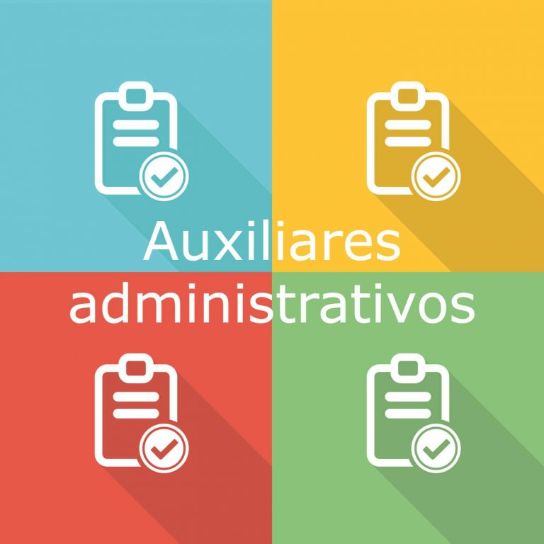 Información sobre los requisitos y sobre el contenido de la oposición a auxiliares administrativos del Estado