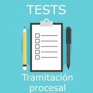 tests de exámenes oficiales a las oposiciones a tramitación procesal