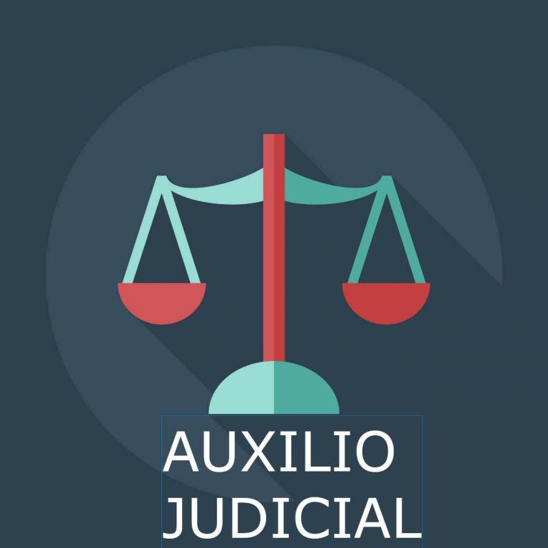 Imagen auxilio judicial