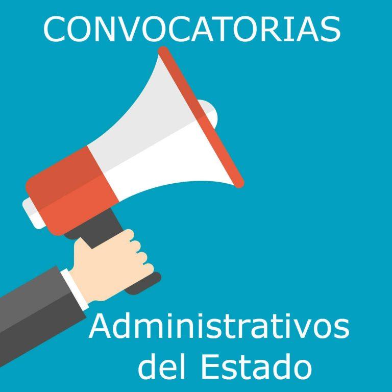 Imagen sobre convocatorias de Administrativos del Estado
