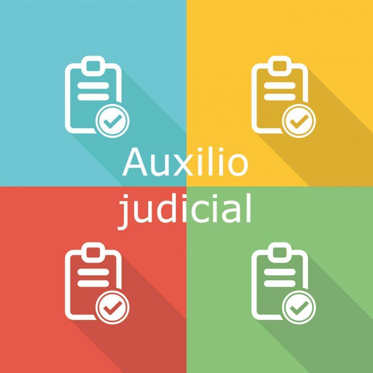 Imagen requisitos oposición auxilio judicial