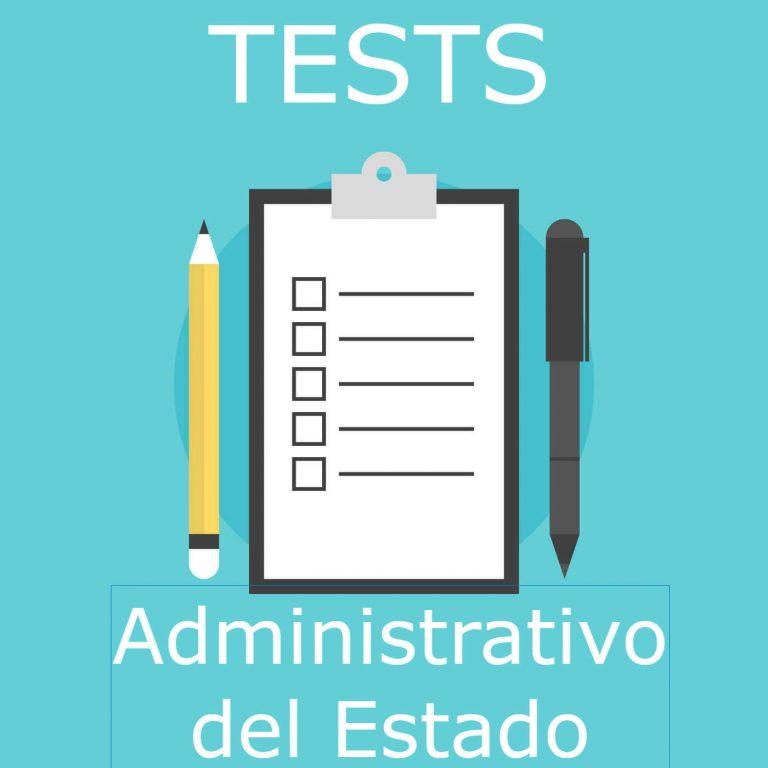 Imagen de tests de adminitrativos del Estado