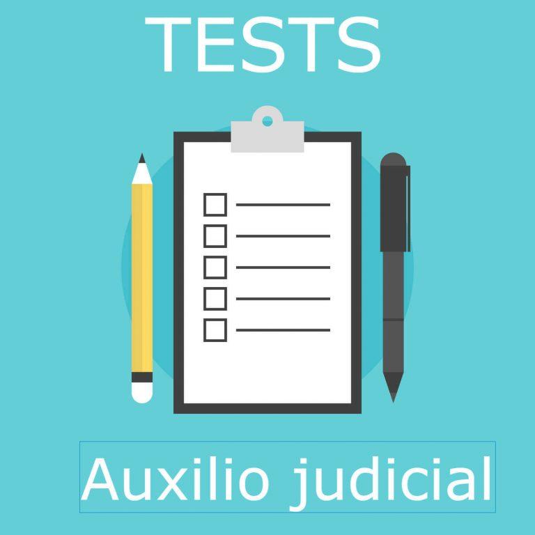 Imagen tests auxilio judicial